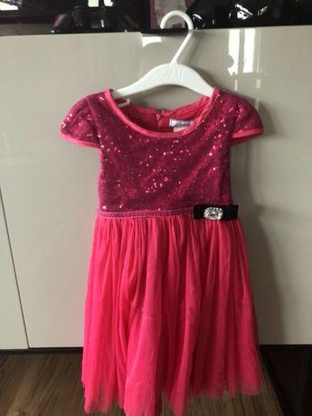 Cudowna balowa sukienka mieniąca cekiny Tkk Max