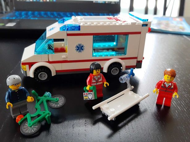 Klocki Lego - karetka pogotowia