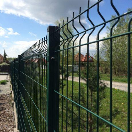 Panele ogrodzeniowe fi4 h=1230m -kompletne panele ogrodeniowe Maków M