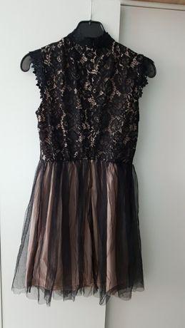 Sukienka mini elegancka ze sklepu Bombardina M L