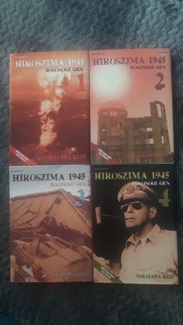Manga Hiroszima 1945 bosonogi gen tom 1-4