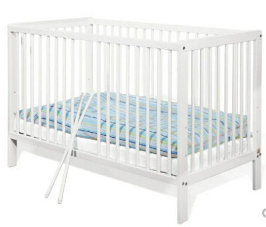 Łóżeczko dziecięce drewniane PINOLINO LENNY 120x60