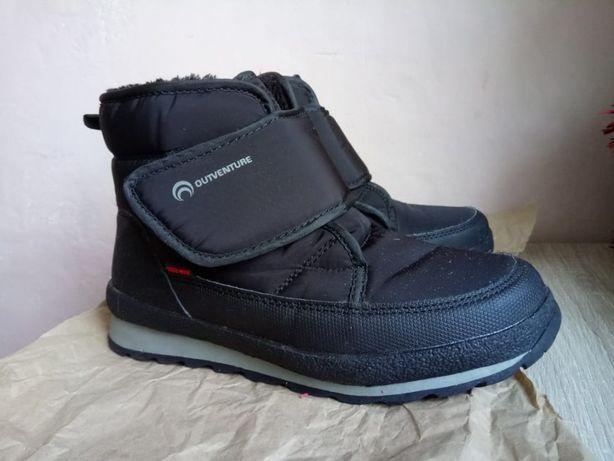 Теплые сапоги ботинки размер 36 на мальчика