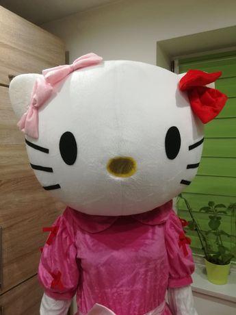 HELLO KITTY chodząca żywa maskotka kostium strój reklamowy