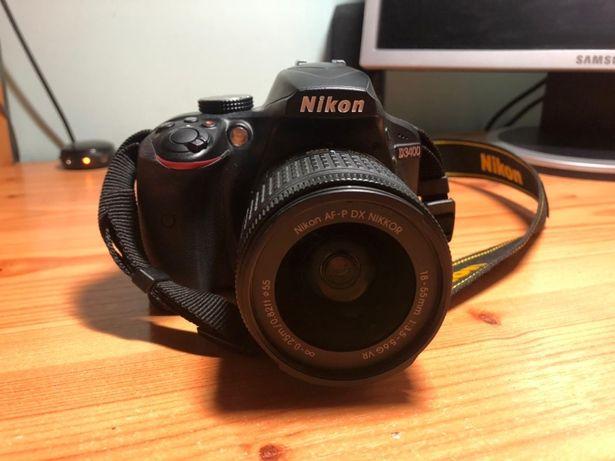 Фотоаппарат зеркальный  Nikon D3400 kit AF-P 18-55mm F3.5-5.6G б/у
