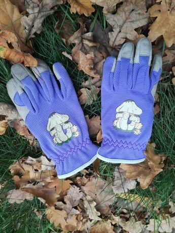 rękawiczki ogrodowe dziecięce rozm. 4