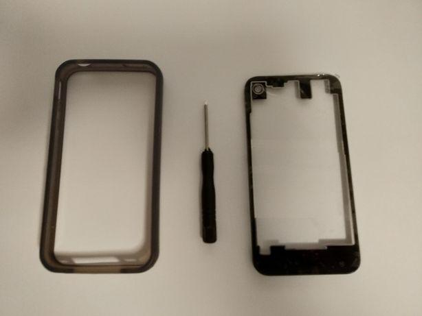 Iphone 4 / 4s tampa transparente
