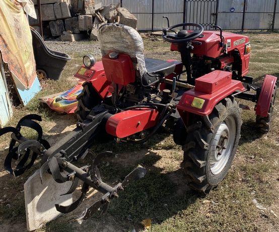Мототрактор DW 150 RXi,трактор с документами.
