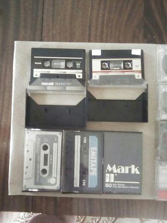 Sprzedam czyste kasety magnetofonowe 50szt.