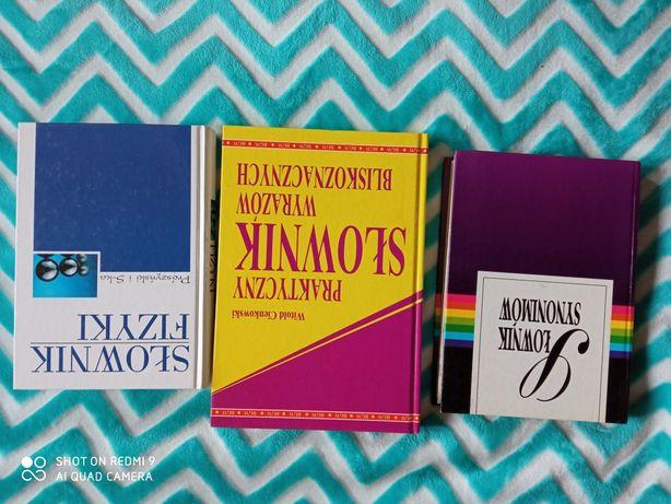 Słownik synonimów, wyrazów bliskoznacznych i fizyki