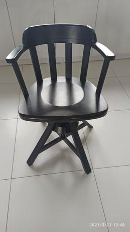 Krzesło obrotowe drewniane Ikea Fedor