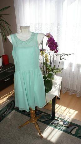 Suknia okazjonalna mgiełka r 34 Mohito