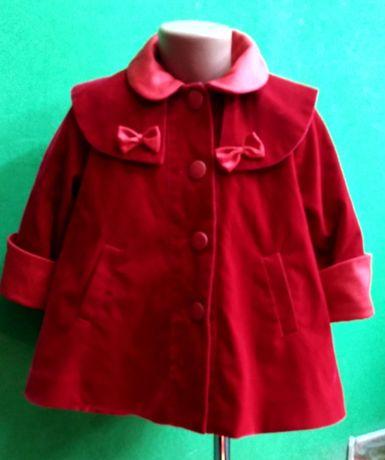 Пальто детское для девочки 3 х-4-х лет весна