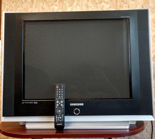 """Телевизор 29"""" Samsung CS-29Z45HPQ + DVD проигрыватель"""