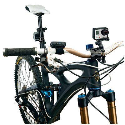 Suporte adaptador de bicicleta e moto GoPro NOVO