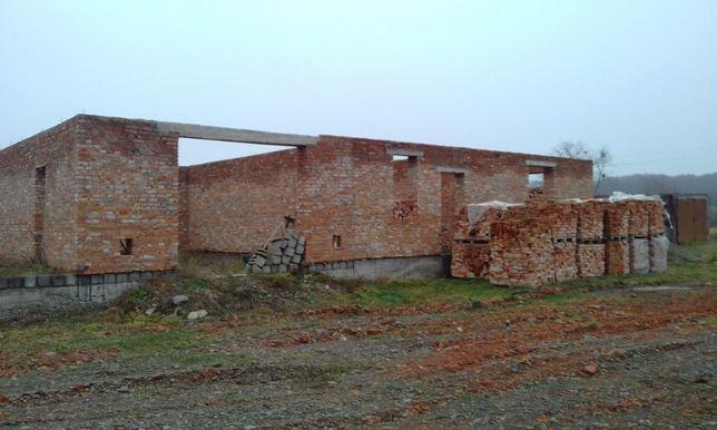 Продам незавершене будівництво