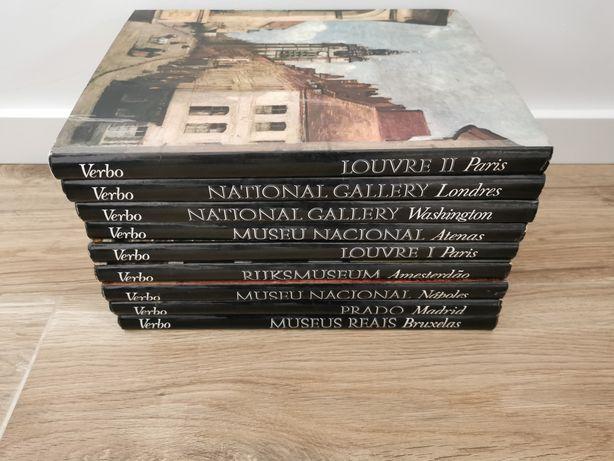 Museus de Arte, Internacionais. Verbo. Livros