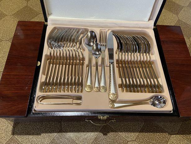БРОНЬ Набор столовых приборов вилки ложки ножи прибори Zillinger