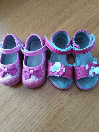 Sandałki i baleriny dla dziewczynki