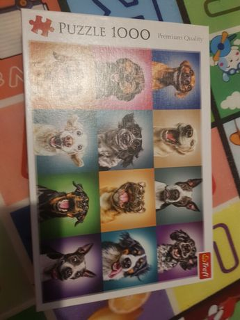 Puzzle 1000 trefl psy