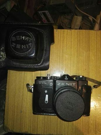 trzy aparaty Zenit smiena...