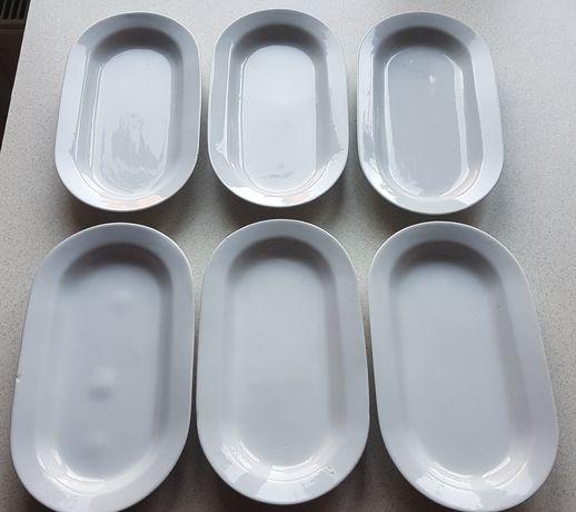 Małe półmiski talerze porcelana Włocławek