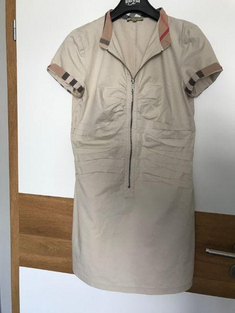 Sukienka Burberry beżowa 36