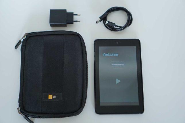 Tablet Dell Venue 7 / stan dobry / pokrowiec, plecki, ładowarka