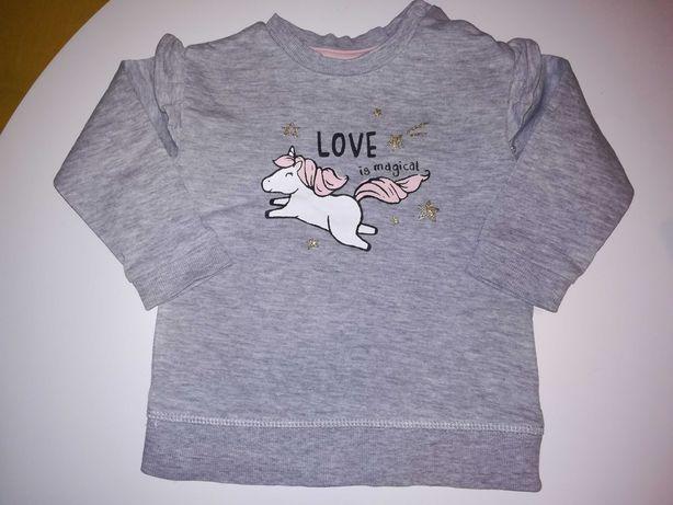 Bluza niemowlęca dla dziewczynki H&M r. 80
