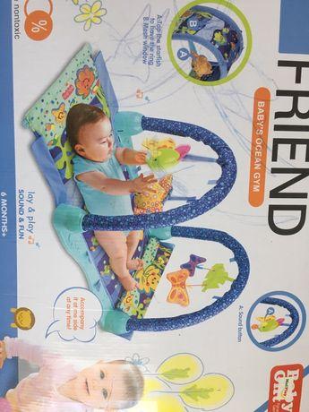 Дитячий розвиваючий коврик і дитяча ванна
