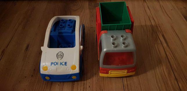 Samochodziki Lego policja i wywrotka