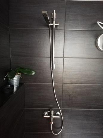 Komplet Bateria wannowa i umywalkowa prysznic