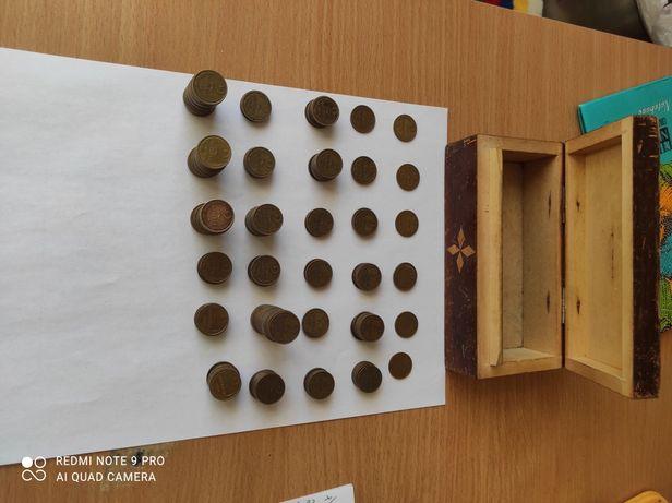 Коллекция монет СССР 2 копейки 1949-1989,230 монет