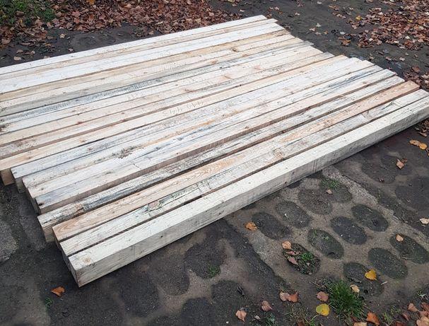 25zl/szt Kantówki kantówka belka słupki wiaty ogrodzenie 240 x 10 x 8