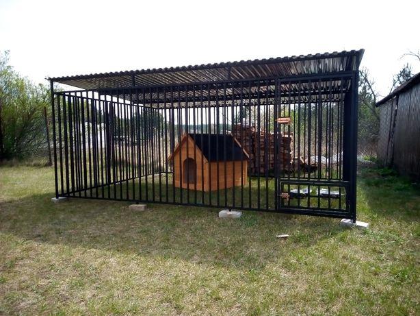 Kojec dla psa 4x3m, klatka, boks, zagroda, najwyższa jakość