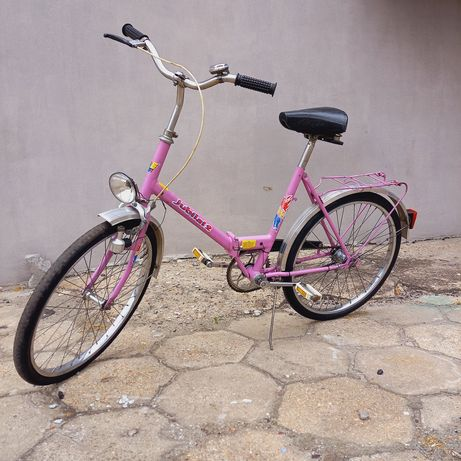 Piękny stary rower Jubilat 2, prl