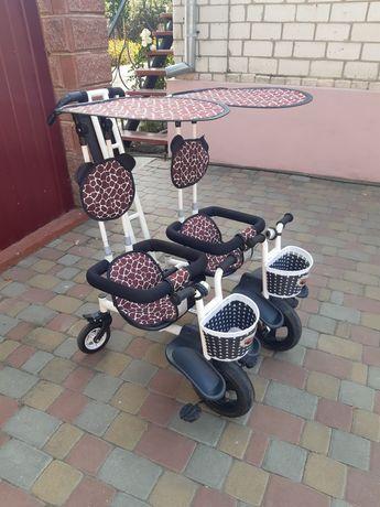Велосипед для двійнні