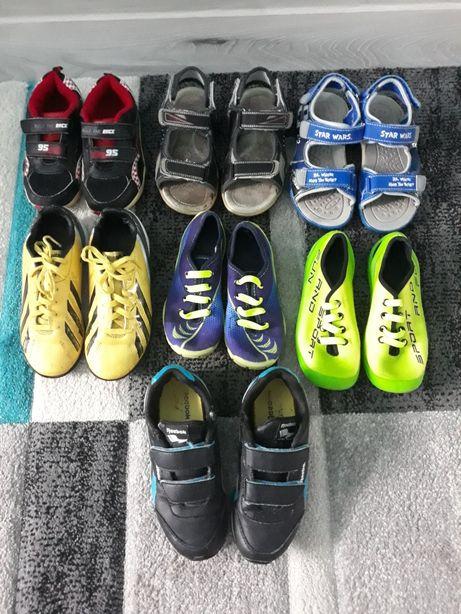 Adidasy korki sandały