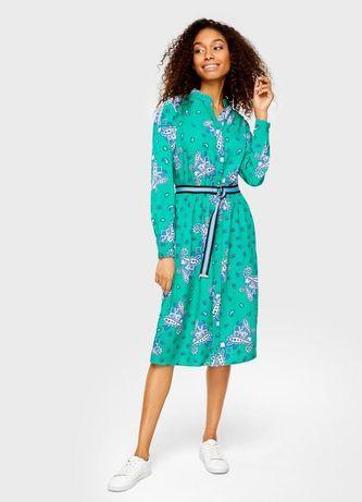Платье рубашка с принтом Ostin