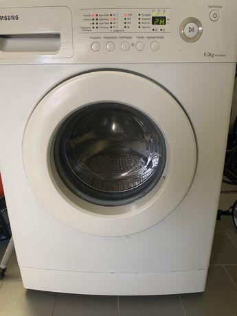 Máquina de lavar Roupa Samsung WF7600NAW