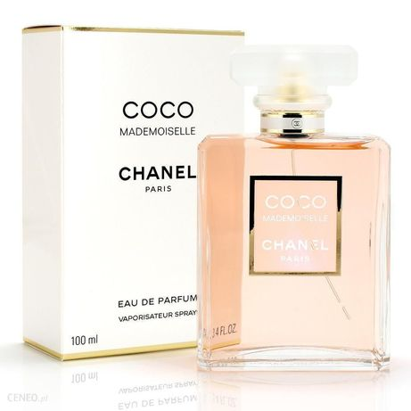 Perfumy Coco Chanel mademoiselle 100 ml LiSTA W TREŚCI