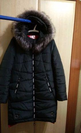Зимнее женское пальто. р.50.
