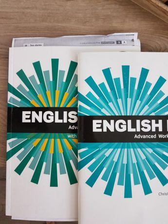 English Advanced work book Oxford
