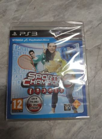 Gra playstation 3 ps3 move sports champions 2 nowa folia