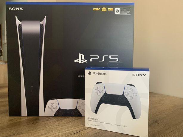 Vendo PS5 Edição Digital 825gb (SELADA)