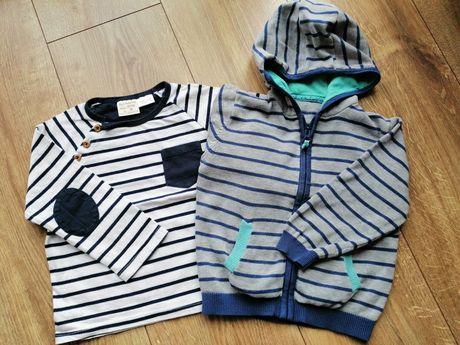 Sweter Bluzka Longsleeve Zara Marks & Spencer