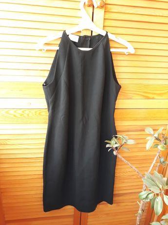 Платье миди футляр женское чёрное