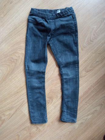 Spodnie rurki legginsy jegginsy 128 h&m