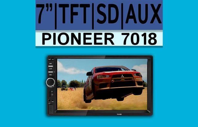Мультимедиа Pioneer 7018 GPS автомагнитола 2DIN, 7 д., SD, USB