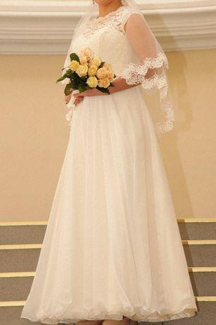 Величественное свадебное платье